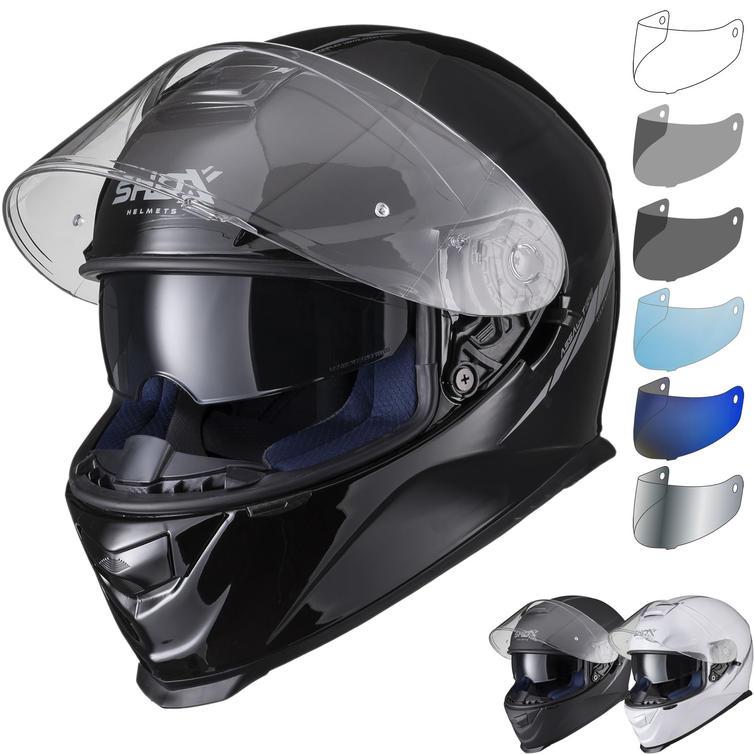 Shox Assault Evo Motorcycle Helmet & Visor