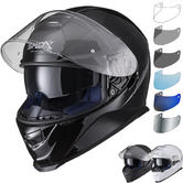 Shox Assault Evo Motorcycle Helmet & Visor