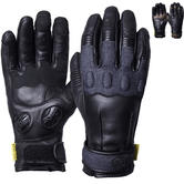 Knox Wave Ladies Leather Motorcycle Gloves