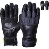 Knox Wave Ladies Leather Motorcycle Gloves