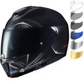 HJC RPHA 90 Darth Vader Flip Front Motorcycle Helmet & Visor