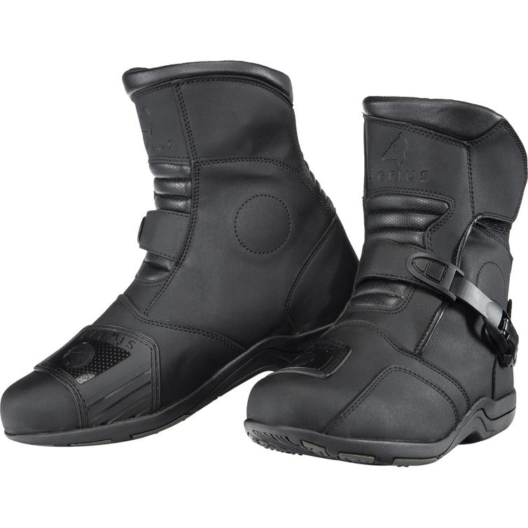 Agrius Chaos WP Adventure Mid Motorcycle Boots