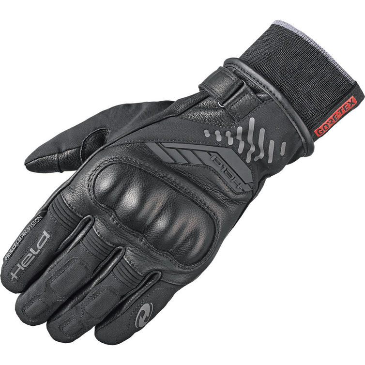 Held Madoc Gore-Tex Leather Motorcycle Gloves