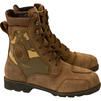 Merlin Borough Camo Crazy Horse Leather Motorcycle Boots