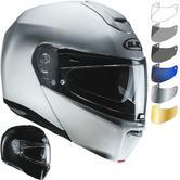 HJC RPHA 90 Metal Flip Front Motorcycle Helmet & Visor