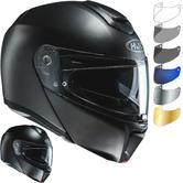 HJC RPHA 90 Semi Flat Flip Front Motorcycle Helmet & Visor