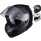 Black Apex Full Face Motorcycle Helmet