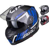Black Apex Triple Full Face Motorcycle Helmet