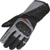 Black Voyage Waterproof Leather Motorcycle Gloves