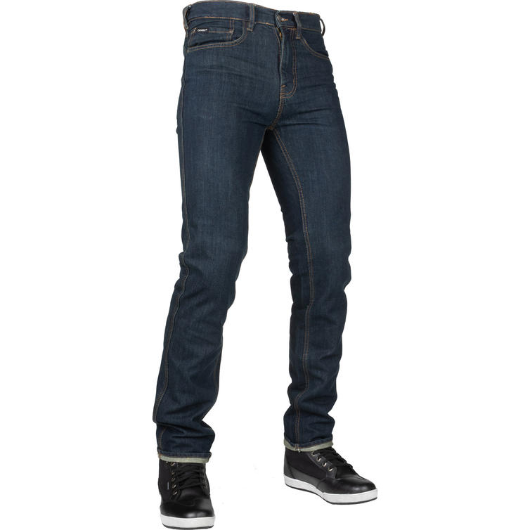 Bull-It Tactical SP75 Kafe Straight Fit Blue Motorcycle Jeans