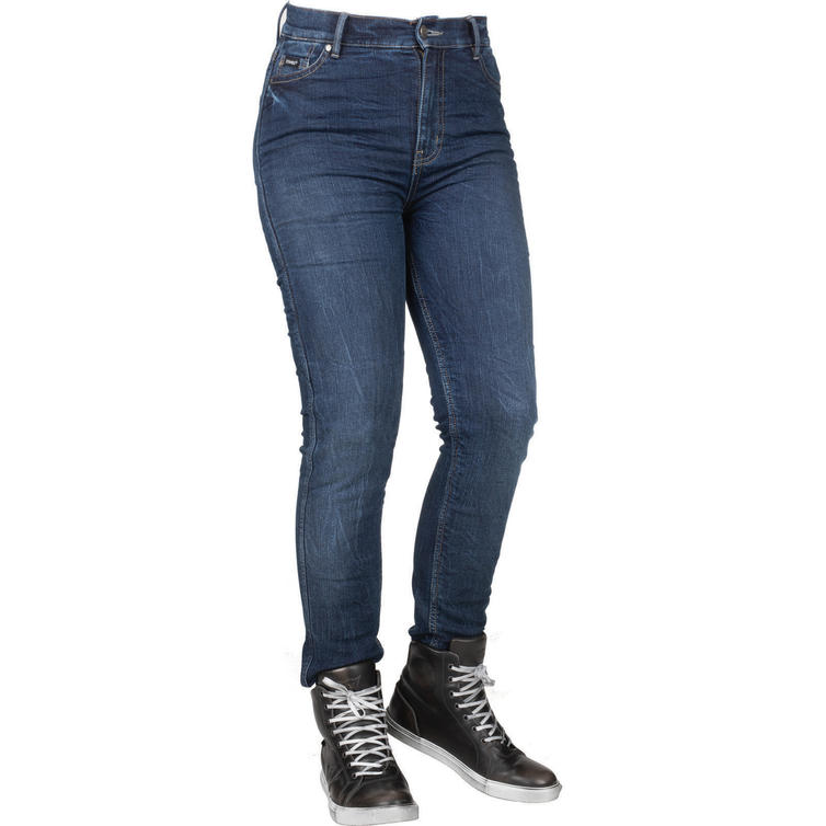 Bull-It Tactical SP75 Icona Straight Fit Blue Ladies Motorcycle Jeans