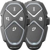 Interphone Avant Bluetooth Intercom System Twin Pack (FOR 2 HELMETS)