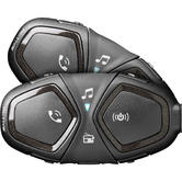 Interphone Active Bluetooth Intercom System Twin Pack (FOR 2 HELMETS)