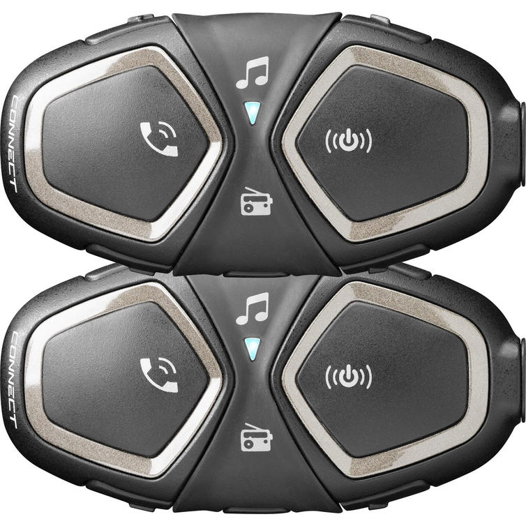 Interphone Connect Bluetooth Intercom System Twin Pack (FOR 2 HELMETS)