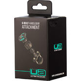 Ultimateaddons U-Bolt Handlebar Mount 16 - 32mm + 3 Prong Adapter V2