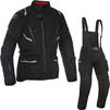 Oxford Montreal 3.0 Motorcycle Jacket & Trousers Tech Black Kit