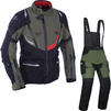 Oxford Montreal 3.0 Motorcycle Jacket & Trousers Army Green Kit