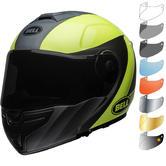 Bell SRT Modular Presence Flip Front Motorcycle Helmet & Visor