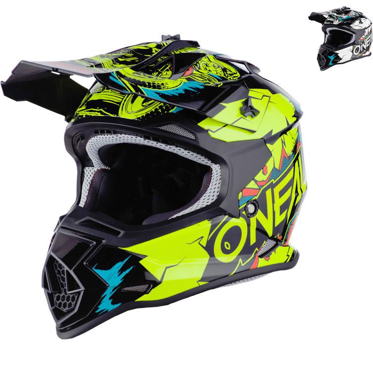 Oneal 2 Series Villain Youth Motocross Helmet