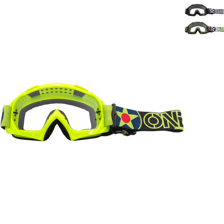Oneal B-10 2020 Warhawk Motocross Goggles