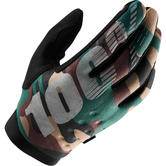 100% Brisker Camo Youth Motocross Gloves