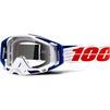 100% Racecraft Clear Motocross Goggles Thumbnail 12