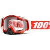 100% Racecraft Clear Motocross Goggles Thumbnail 10