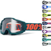 100% Accuri Clear Motocross Goggles