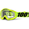 100% Accuri Clear Motocross Goggles