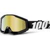 100% Strata Mirror Motocross Goggles