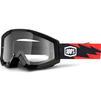 100% Strata Clear Motocross Goggles