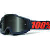 100% Accuri Sand Grey Smoke Motocross Goggles