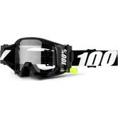 100% Strata Forecast Clear Roll-Off Motocross Goggles