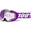 100% Accuri Clear Youth Motocross Goggles Thumbnail 7