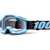 100% Accuri Clear Youth Motocross Goggles Thumbnail 4