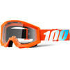 100% Strata Clear Junior Motocross Goggles