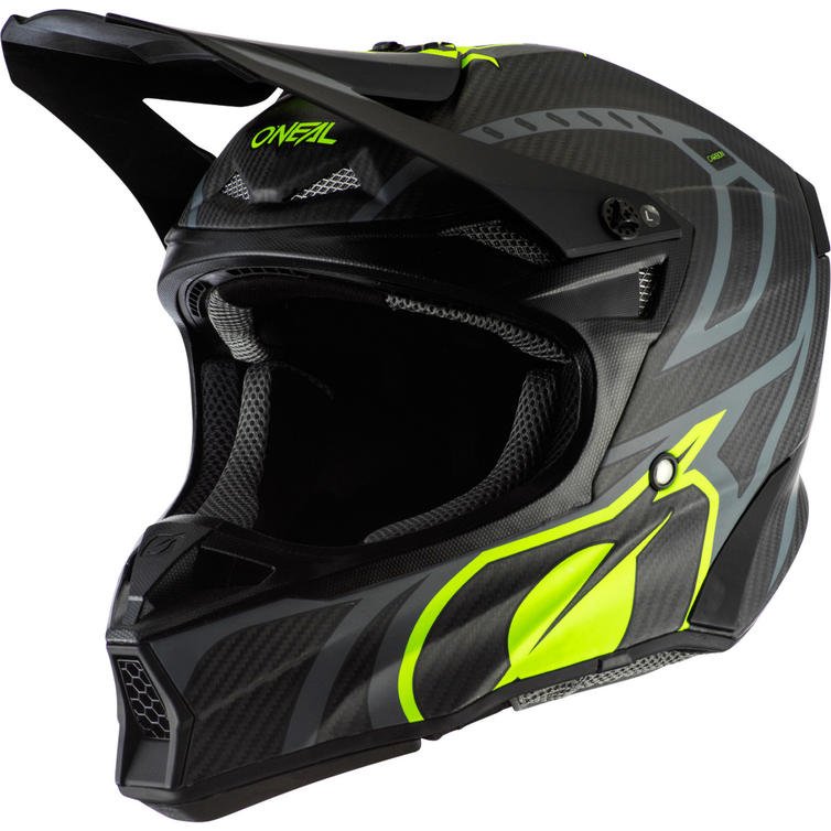 Oneal 10 Series Carbon Race Motocross Helmet