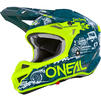 Oneal 5 Series Polyacrylite HR Motocross Helmet Thumbnail 4