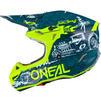 Oneal 5 Series Polyacrylite HR Motocross Helmet Thumbnail 8