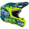 Oneal 5 Series Polyacrylite HR Motocross Helmet Thumbnail 12
