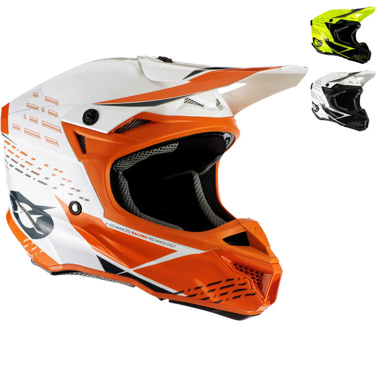 Oneal 5 Series Polyacrylite Trace Motocross Helmet