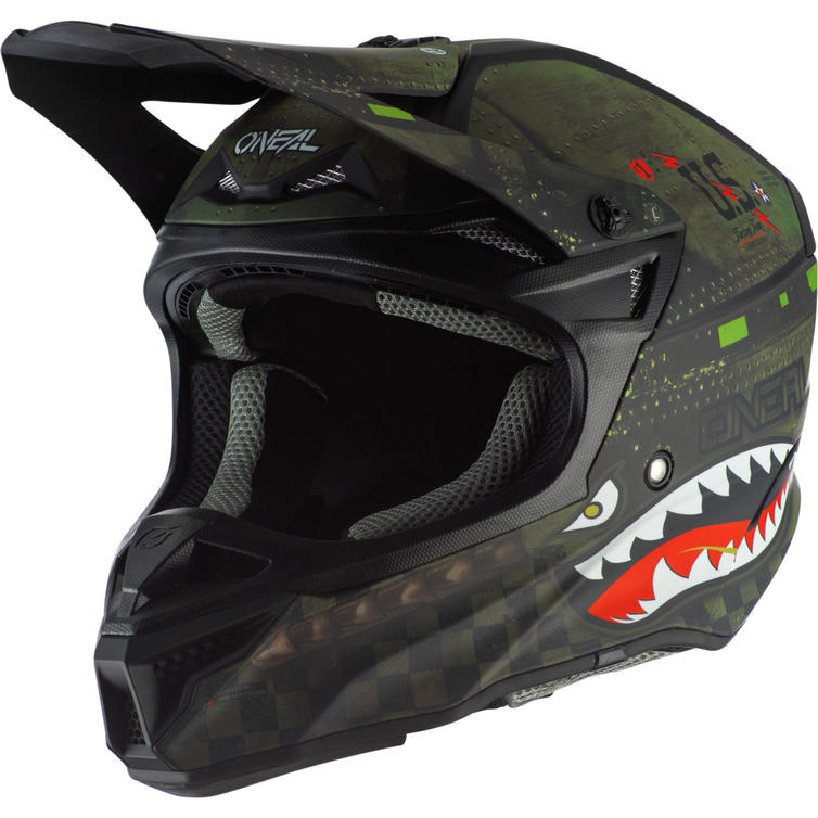 Oneal 5 Series Polyacrylite Warhawk Motocross Helmet
