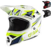 Oneal 3 Series Triz Motocross Helmet