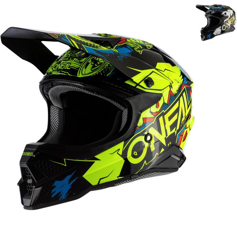 Oneal 3 Series Villain 2.0 Motocross Helmet