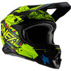 Oneal 3 Series Villain 2.0 Motocross Helmet Thumbnail 5