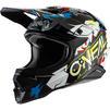 Oneal 3 Series Villain 2.0 Motocross Helmet Thumbnail 4