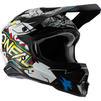 Oneal 3 Series Villain 2.0 Motocross Helmet Thumbnail 6