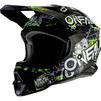Oneal 3 Series Attack 2.0 Motocross Helmet Thumbnail 3