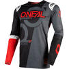 Oneal Prodigy 2020 Five Zero Motocross Jersey & Pants Black Neon Red Kit Thumbnail 4