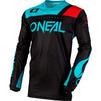 Oneal Hardwear 2020 Reflexx Motocross Jersey & Pants Black Teal Kit Thumbnail 4
